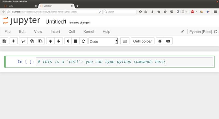 Starting Python